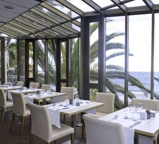 Restaurant mit Meerblick Hotel Dunas Don Gregory