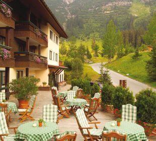 Terrasse Pfefferkorn's Hotel
