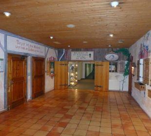 Unterirdischer Verbindungsgang Dorint Sporthotel Garmisch-Partenkirchen