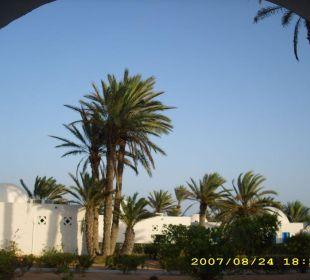 Blick von der Terrasse Hotel Sidi Slim
