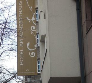 The banner with the hotel name , this is the place Hotel Am Konzerthaus - MGallery collection