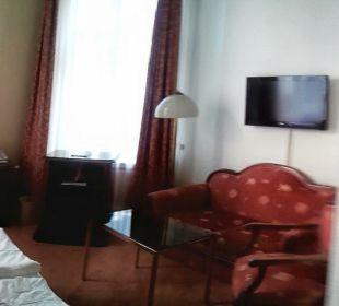 Zimmerpanorama Hotel Residenz Berlin