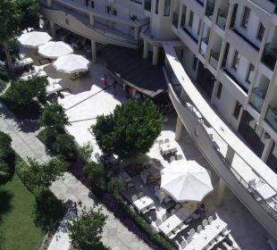 Blick vom Zimmer Side Sun Bella Resort & Spa
