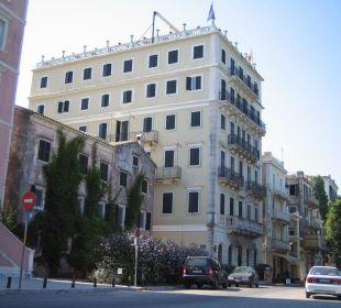 Außenansicht Hotel Cavalieri