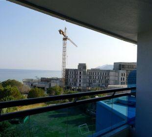 Ausblick Meerseite Baustelle Hotel Le Meridien Al Aqah Beach Resort