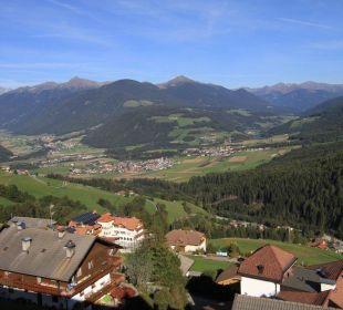 Vue depuis le balcon de notre chambre Kronplatz-Resort Berghotel Zirm