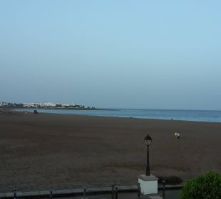 Der Ausblick  auf den Strand Hotel Las Costas
