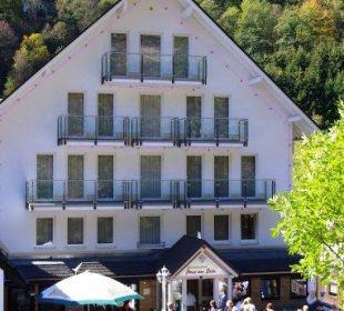 Eingangsbereich Hotel Haus am Stein