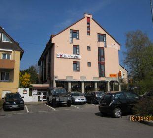 Ansicht Hotel von vorn Hotel Garni Körschtal