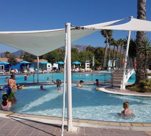 Kinderpool 2 ebenfalls mit Sonnensegel FAMILY LIFE Marmari Beach by Atlantica