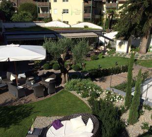 Gartenansicht Boutique Hotel Zum Rosenbaum
