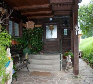 Eingangsbereich Almgasthof Baumschlagerberg