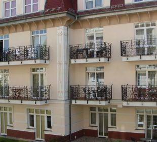 Blick auf die Apartments Baltic Home Apartments