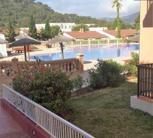 Blick zum Pool! Hotel Don Antonio