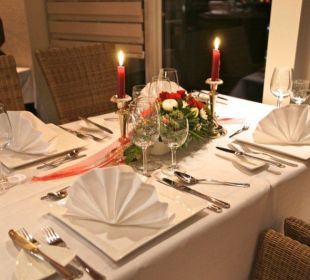 Candle-Light Dinner im Restaurant No.19 Eve Resort & Spa