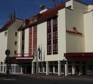 Außenansicht mit Eingang Achat Premium Hotel Neustadt/Weinstraße