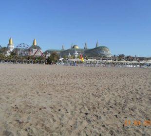 Vom Strand aus Hotel Delphin Imperial