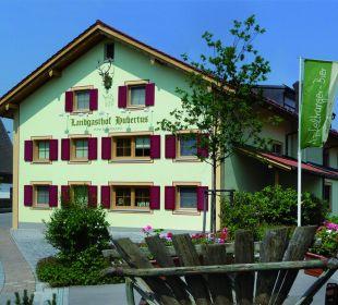 Aussenansicht des Landgasthofs Hotel Landgasthof Hubertus