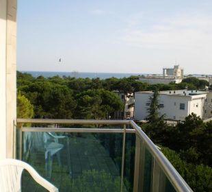 Ausblick Zimmer  Hotel Cristallo Lignano