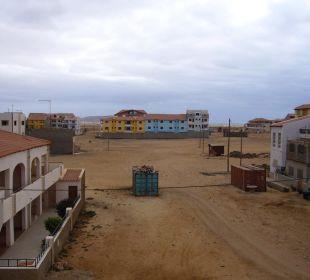Ausblick vom Balkon Hotel Pousada da Luz