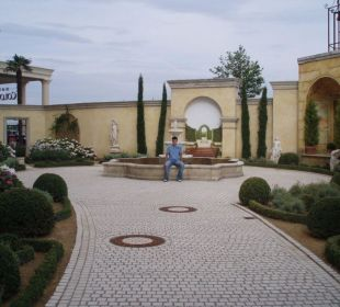 Wege/Garten Hotel Colosseo Europa-Park