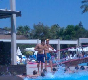 Bayram und Metin geben alles Sunis Elita Beach Resort