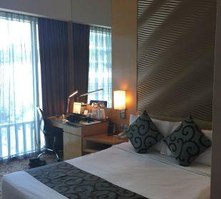 Kleines Bett aber für uns hatss gereicht Park Hotel Clarke Quay