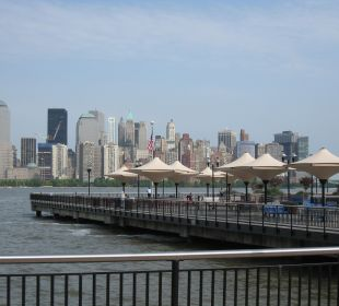 Blick aus dem Zimmer  Hotel Hyatt Regency Jersey City On The Hudson