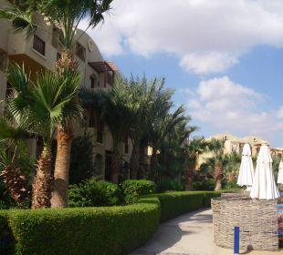 Blick auf die Hotelanlage Arena Inn Hotel, El Gouna