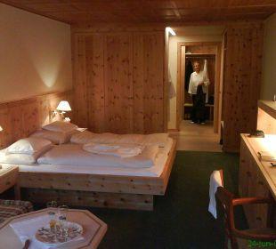 Suite mit Zirbenholzausstattung