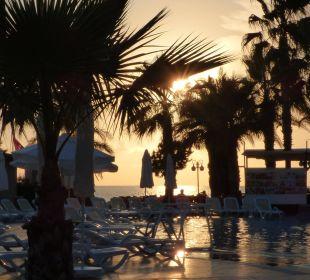 Zachód słońca Oz Hotels Incekum Beach