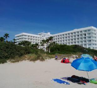 Hotel vom Strand aus Hotel Playa Esperanza