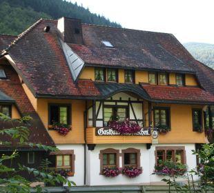 Hotel Aussenansicht Hotel Gasthaus Hirschen