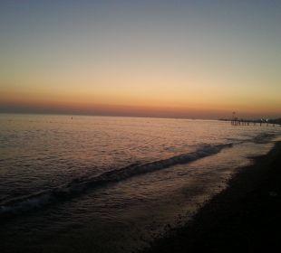 Strand bei Sonnenuntergang Club Sidera (Vorgänger-Hotel – existiert nicht mehr)