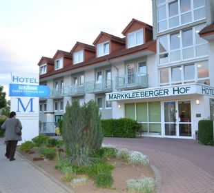 Blick auf das Hotel Hotel Markkleeberger Hof