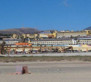 Blick vom Strand Hotel Barcelo Jandia Playa