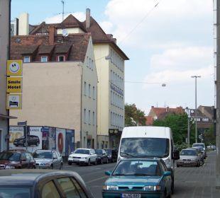 Altstadt in Sichtweite vom Hotel Smile Hotel