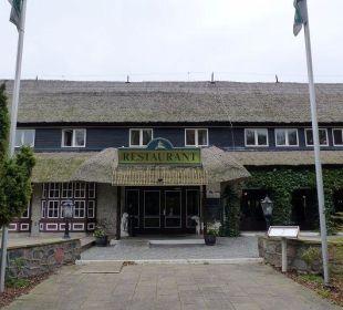 Der Eingangsbereich Hotel Forsthaus Damerow