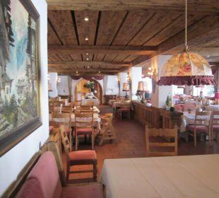 Blick ins Hauptrestaurant  Sporthotel Ellmau