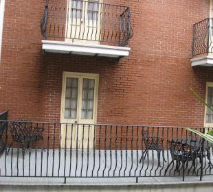 Balkons zum Innenhof
