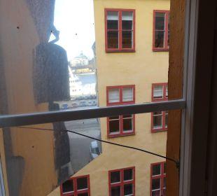 Fensterausblick First Hotel Reisen