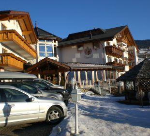 Teil-Hotelansicht Hotel Lärchenhof
