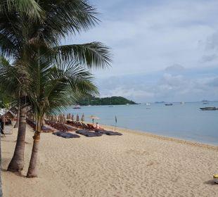 Strand vor dem Hotel Anantara Bophut Resort & Spa