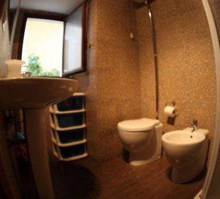 Bagno camera singola Hotel Globetrotter