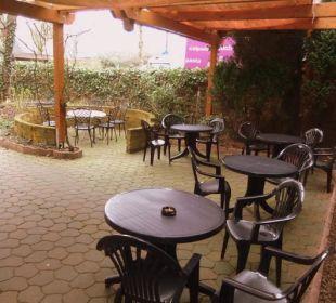 Außenbereich Hotel Landhaus Wremer Deel