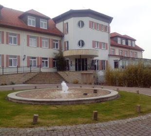Eingang zum Hotel Berghotel Ilsenburg