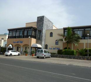 Eingang Hotel Luz Del Mar