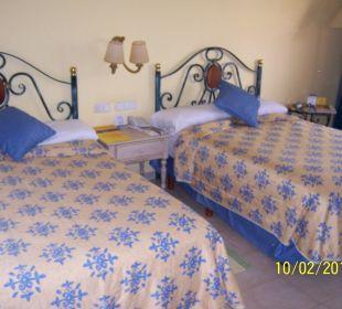 Unser Zimmer im Haus 1
