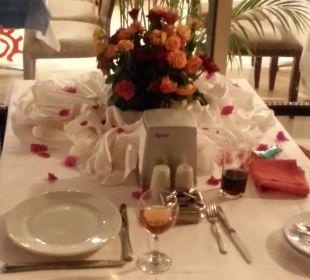 Tisch zum Abendbrot wenn man besonders lieb war Hotel Seamelia Beach Resort