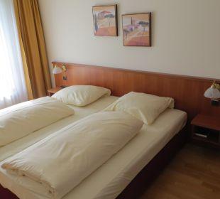 Schlafraum NewLivingHome Appartements Hamburg